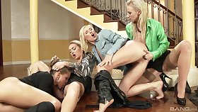 Victoria, Victoria Puppy and VICTORIA SWEET - Lesbian Goldenshower Orgy