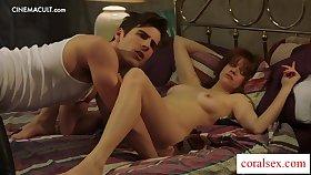 Luscious lesbian banging with Ashlee and Chrissy