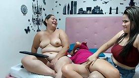 Venezuelan MILFs Crazy Webcam Homophile Show