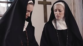 Dirty nuns Mona Wales and Unagitated Siren crave be proper of wet pussy